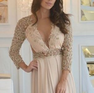 Dresses & Skirts - Gorgeous beaded Greek style gown